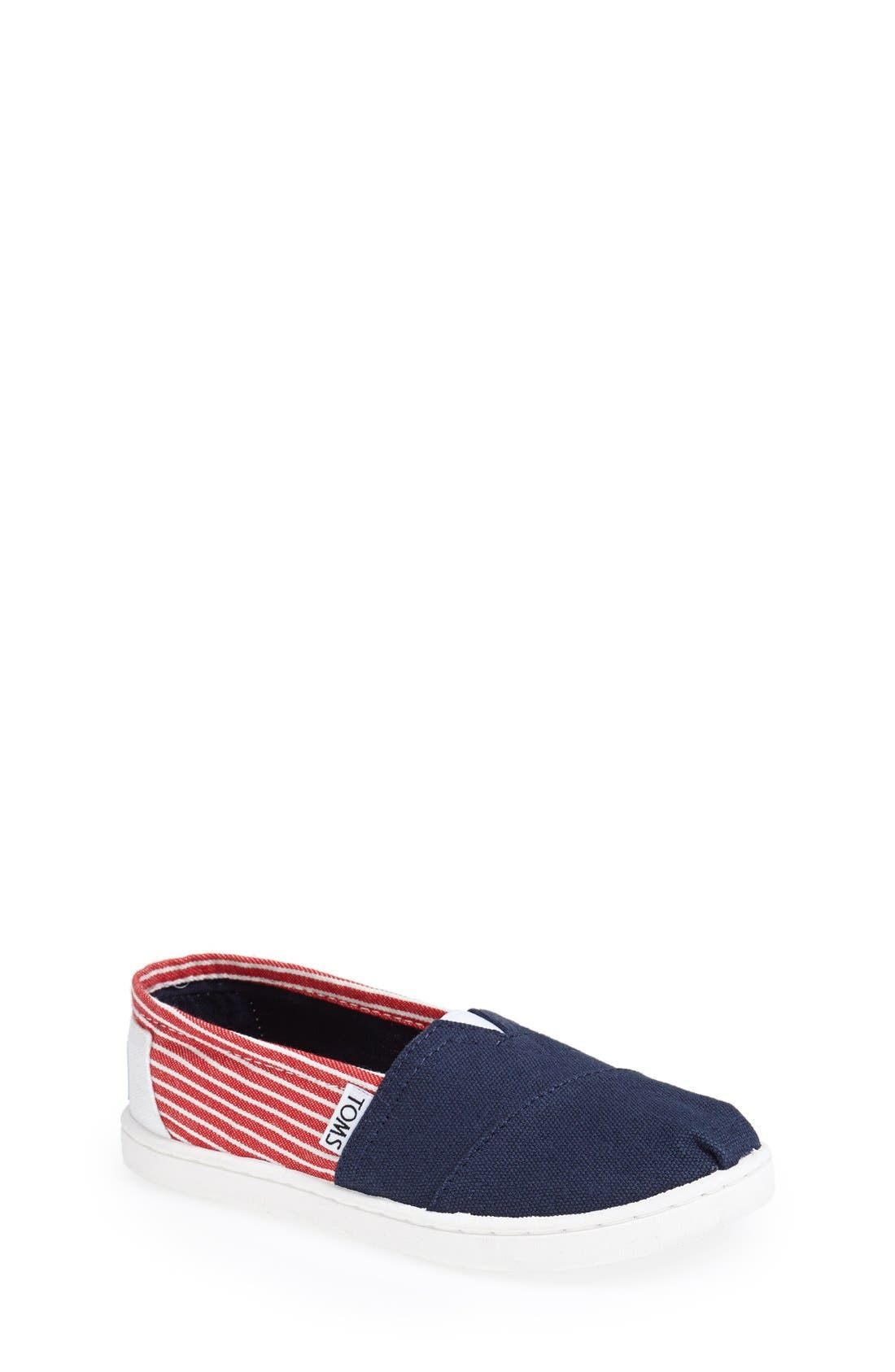 Alternate Image 1 Selected - TOMS 'Youth Classic - Freedom' Slip-On (Toddler, Little Kid & Big Kid)