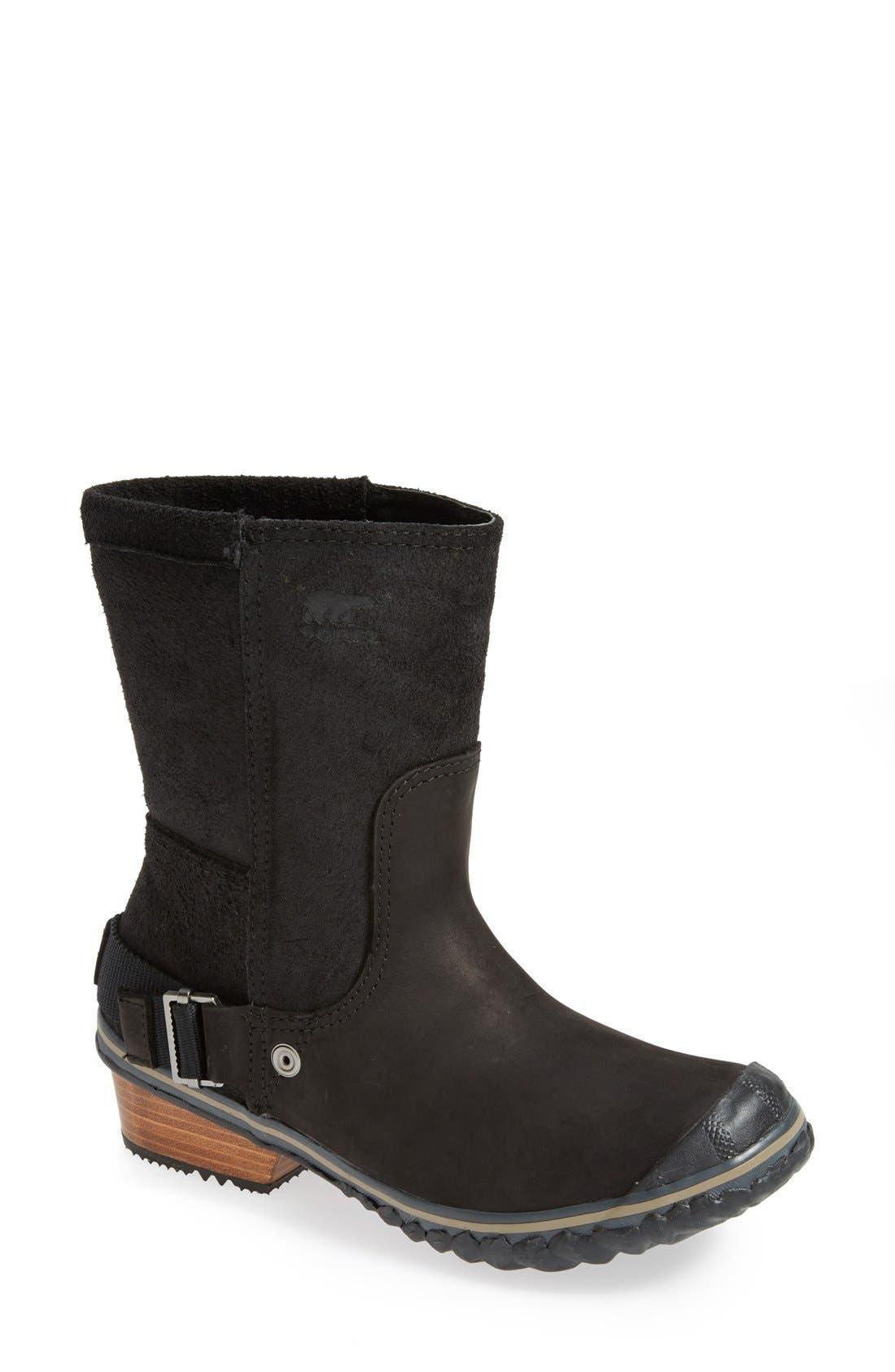 Alternate Image 1 Selected - SOREL 'Slimshortie™' Waterproof Boot (Women)