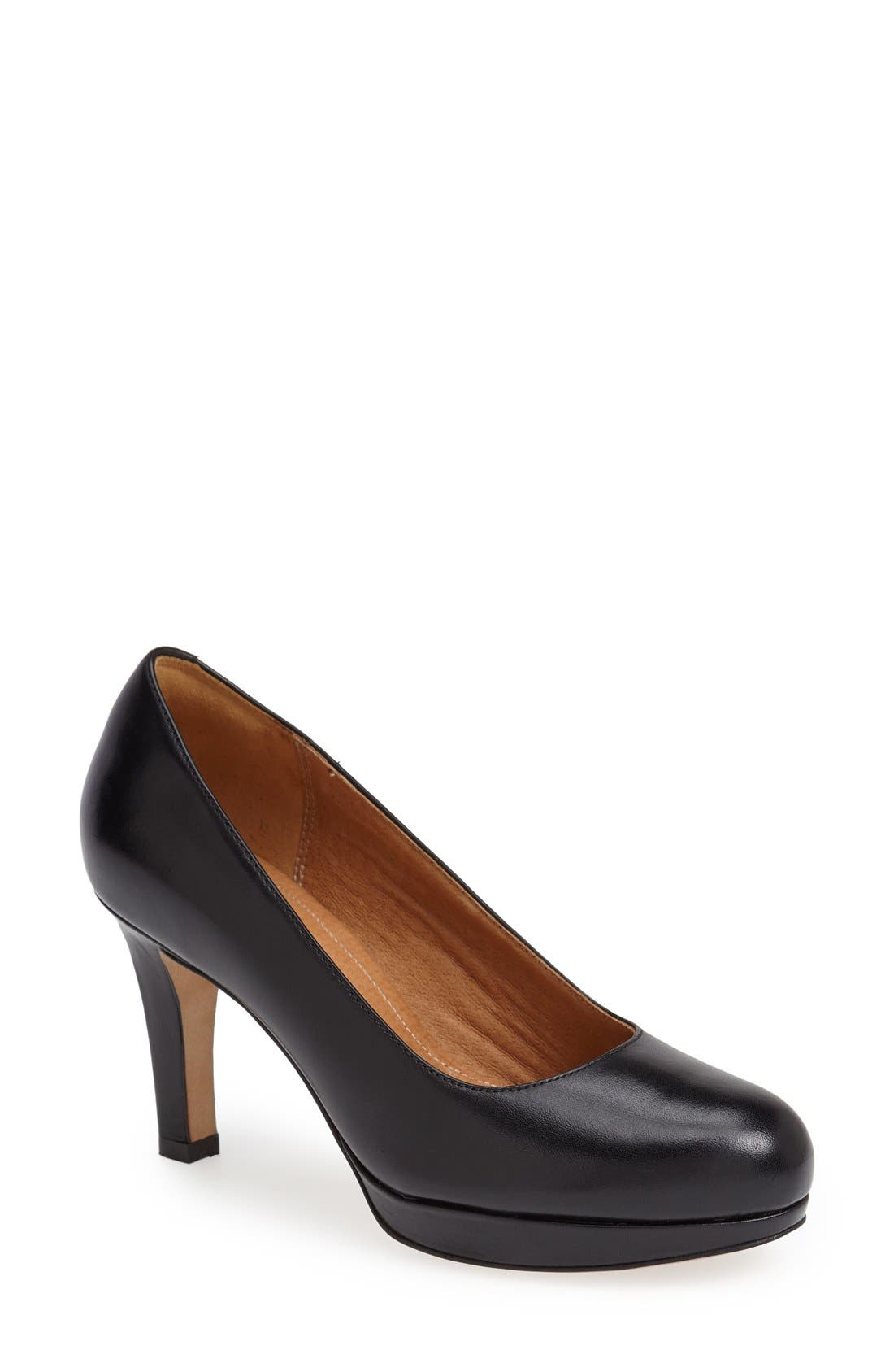Alternate Image 1 Selected - Clarks® 'Delsie Bliss' Platform Pump (Women)