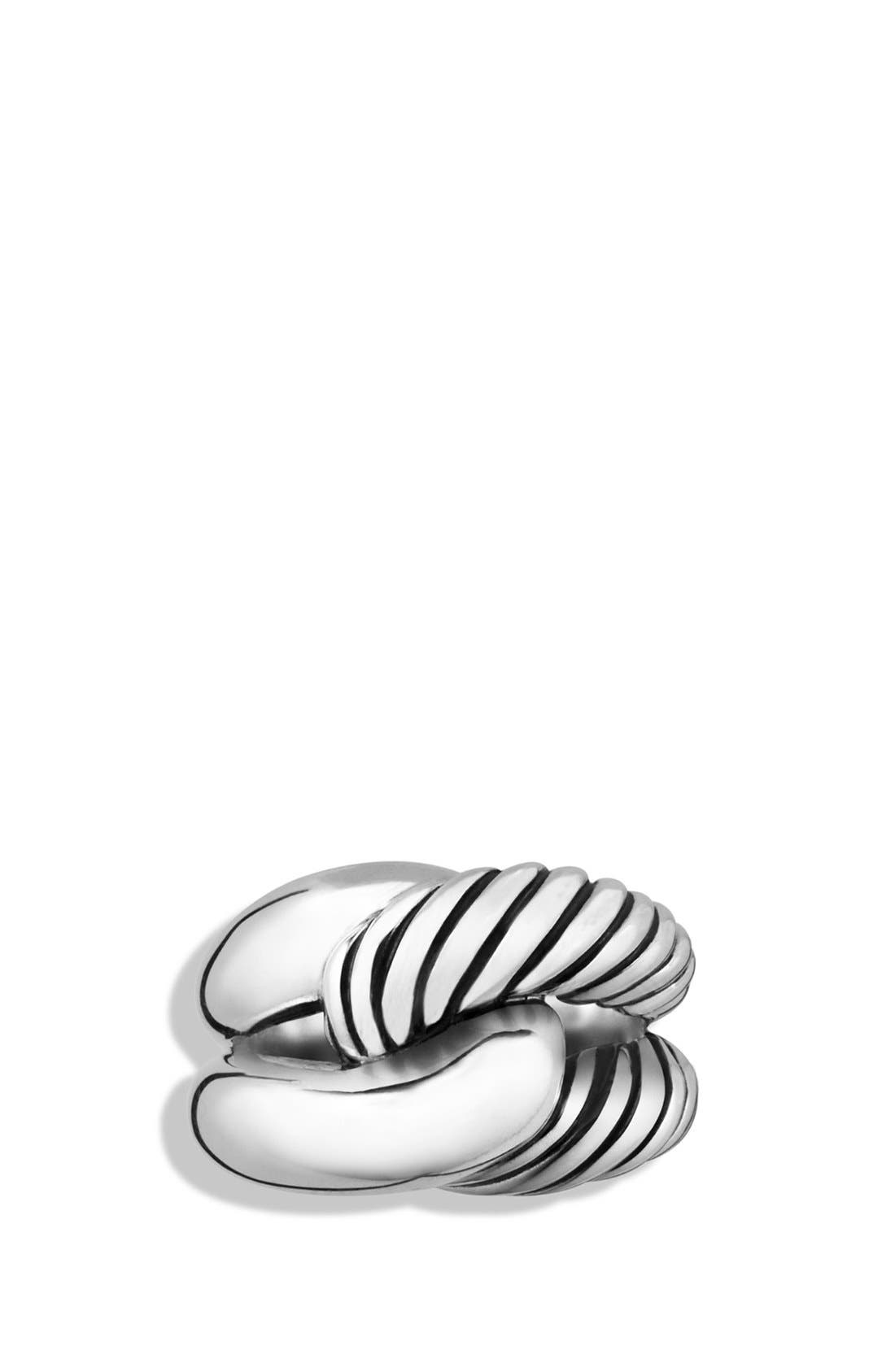 'Infinity' Large Ring,                             Alternate thumbnail 2, color,                             Silver