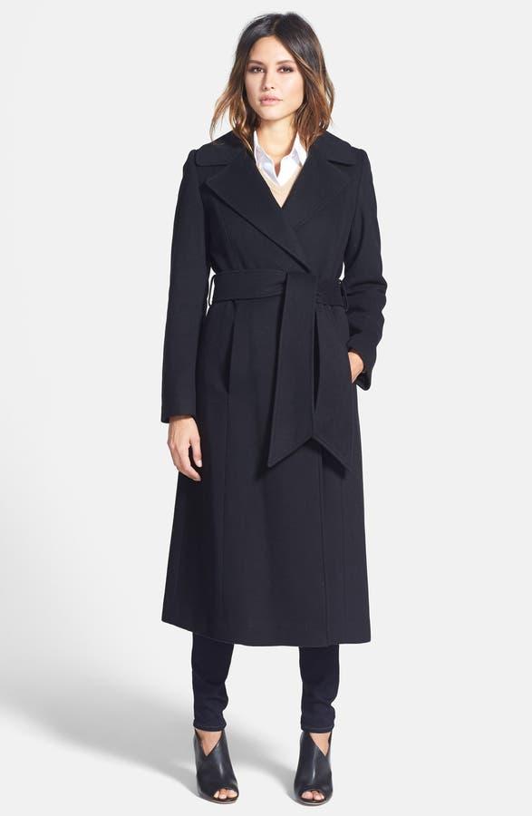 George Simonton 'Hollywood' Long Wrap Coat (Regular & Petite ...