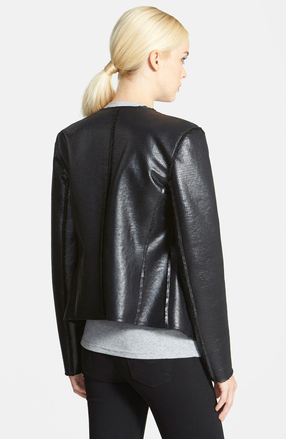 Alternate Image 2  - Trouvé Reversible Biker Jacket