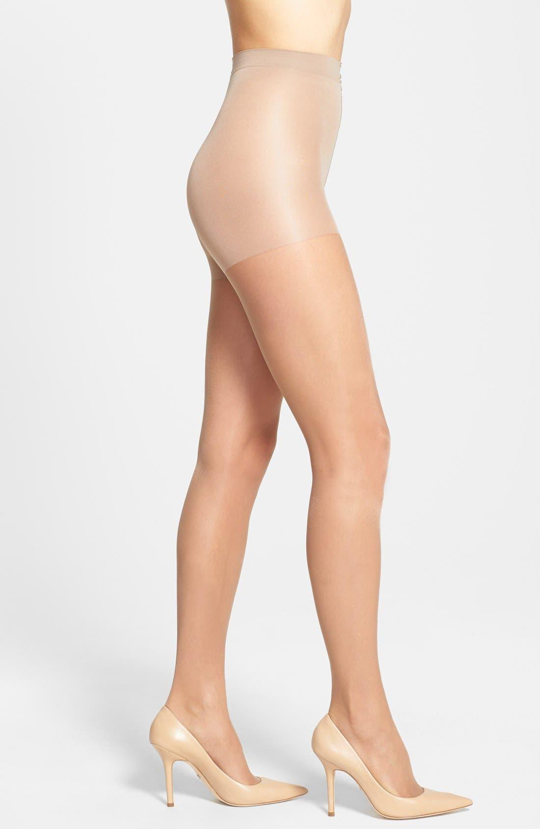 Calvin Klein 'Sheer Essentials - Matte Ultra Sheer' Control Top Pantyhose