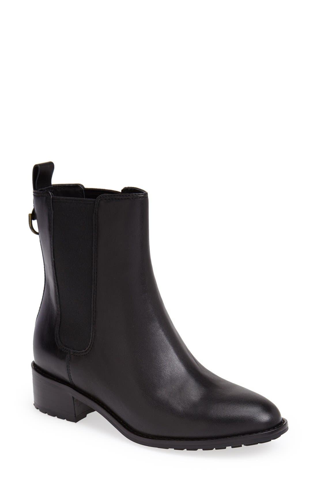 Alternate Image 1 Selected - Cole Haan 'Daryl' Waterproof Chelsea Boot (Women)
