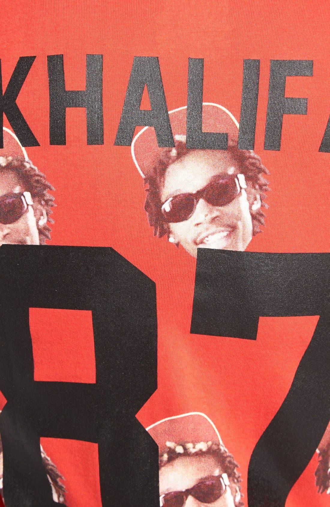 Alternate Image 3  - ELEVENPARIS 'Khalifa' Paisley Print T-Shirt