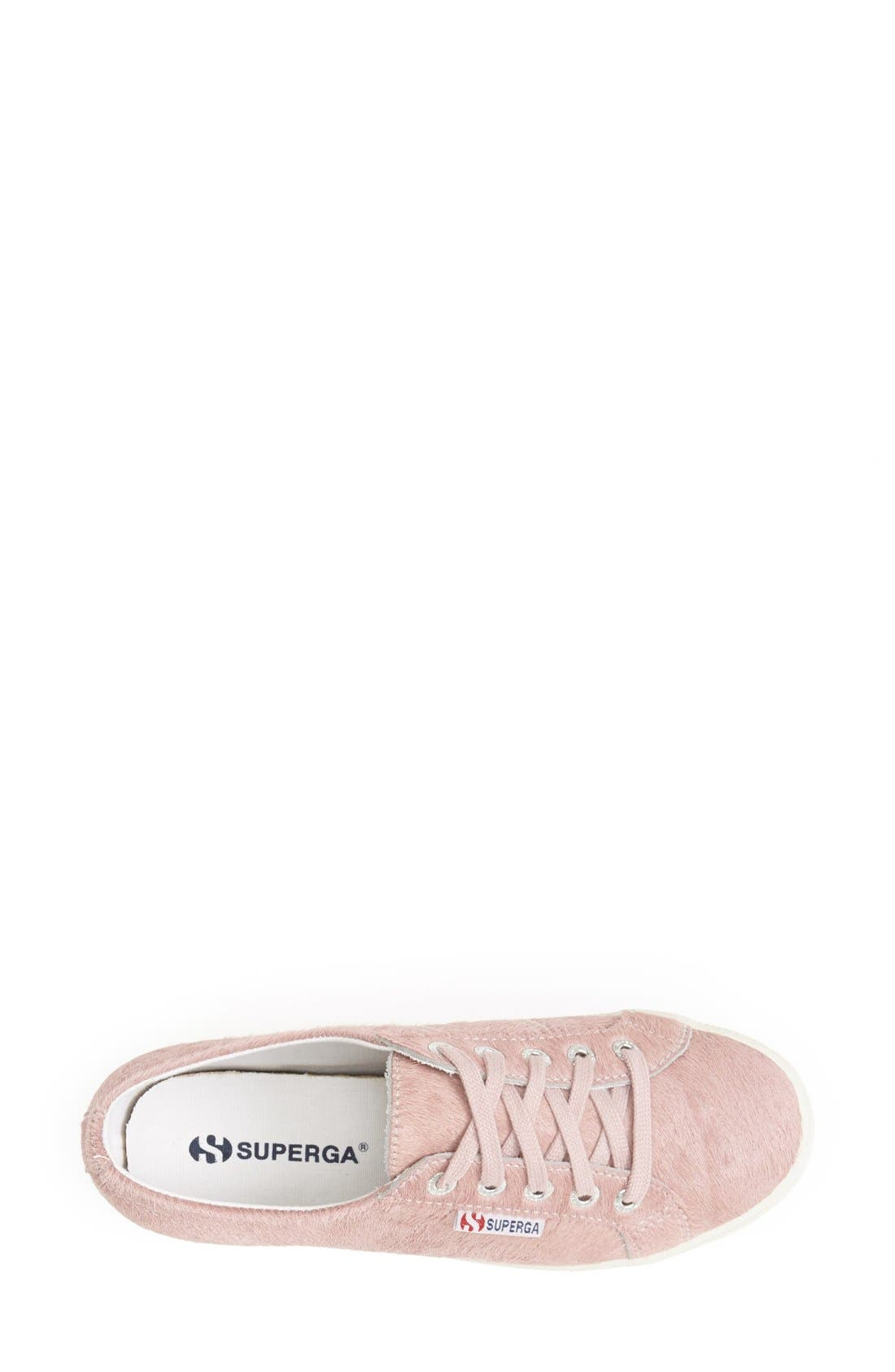 Alternate Image 3  - Superga Calf Hair Lace Up Sneaker (Women)