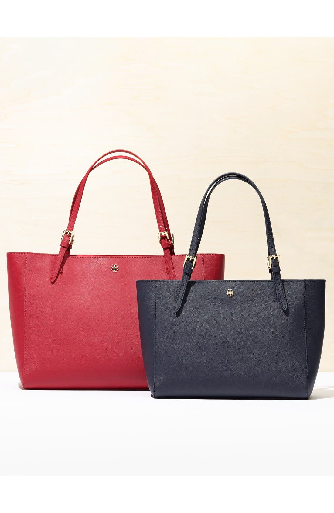 'York' Buckle Tote,                             Alternate thumbnail 3, color,