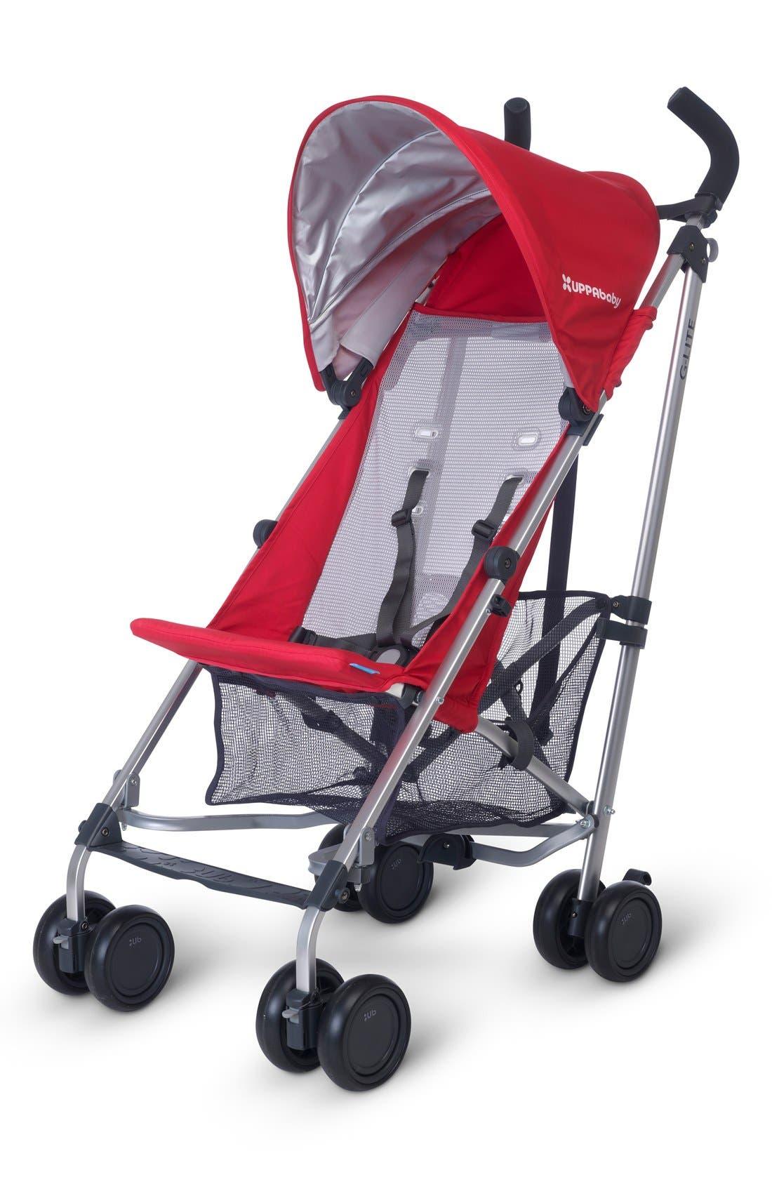2015 G-LITE - Aluminum Frame Stroller,                         Main,                         color, Denny Red