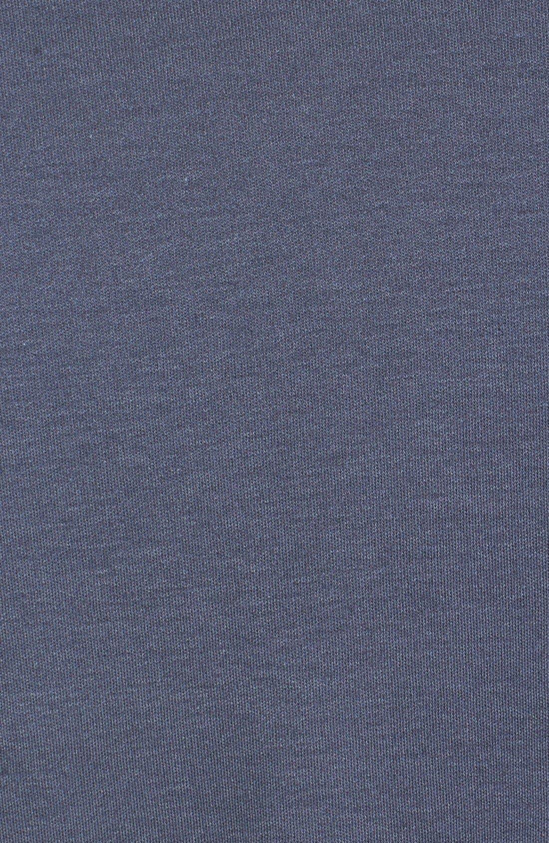 Belfair Quarter Zip Pullover,                             Alternate thumbnail 3, color,                             Onyx Grey