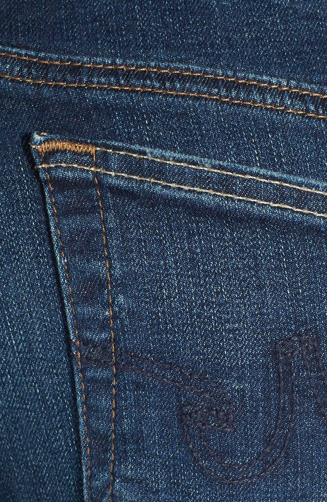 Alternate Image 3  - AG 'The Legging' Ankle Jeans (4 Year Fog)