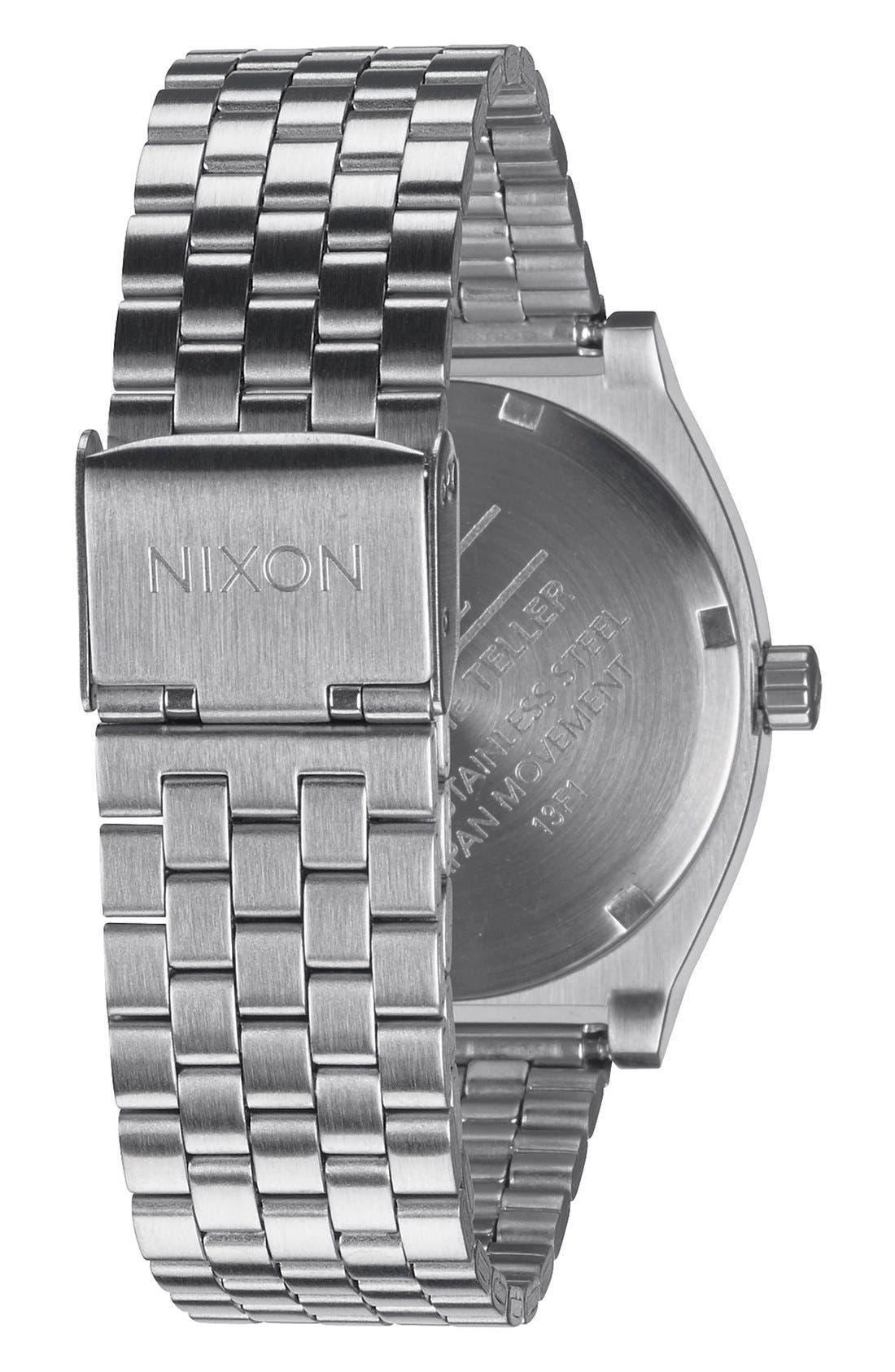 Alternate Image 2  - Nixon 'The Time Teller' Watch, 37mm