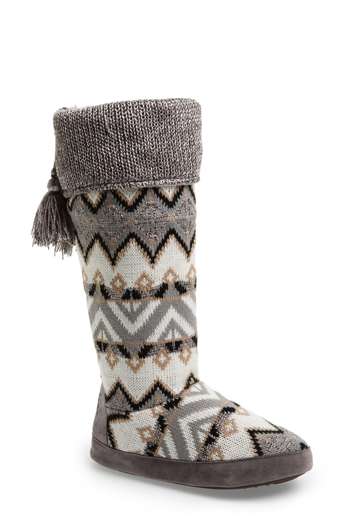 Alternate Image 1 Selected - MUK LUKS 'Winona' Slouchy Bootie Slipper