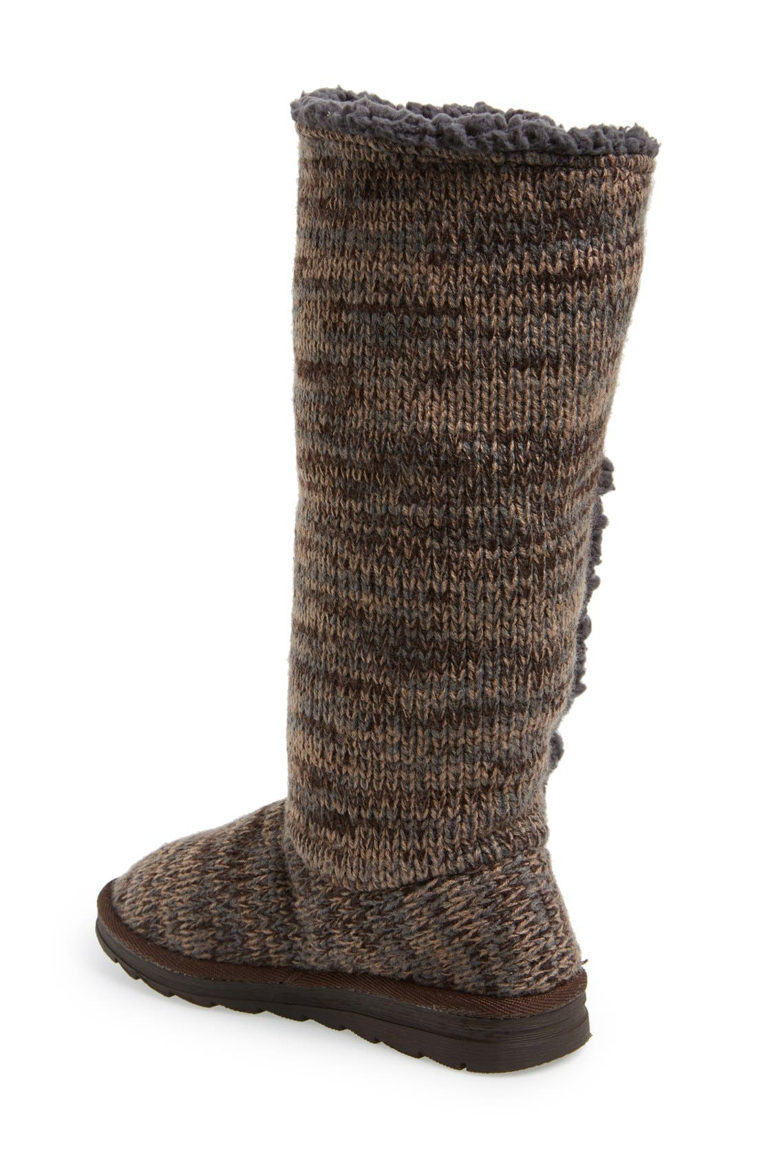 Alternate Image 2  - MUK LUKS 'Malena' Button Up Crochet Boot (Women)