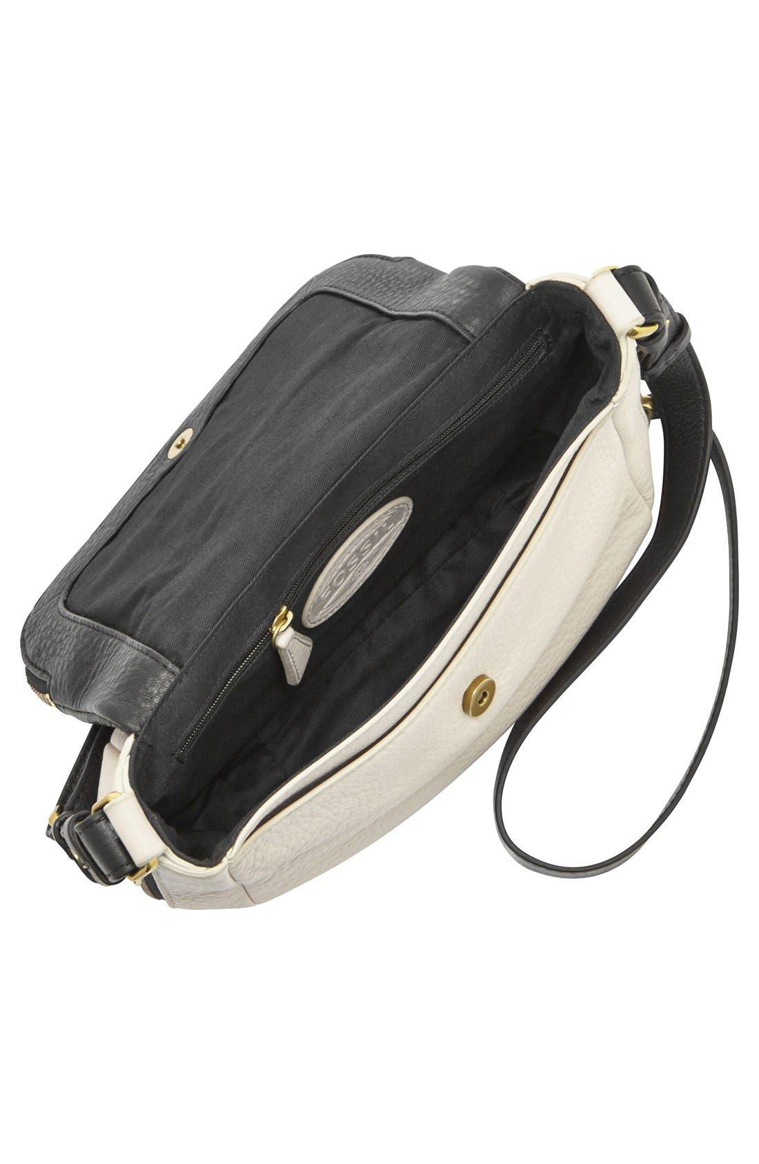Alternate Image 3  - Fossil 'Preston' Colorblock Flap Crossbody Bag