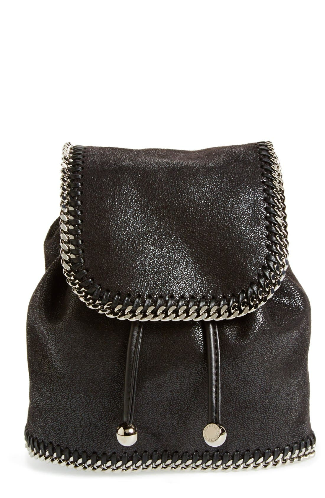 Alternate Image 1 Selected - Stella McCartney 'Mini Falabella' Faux Leather Backpack