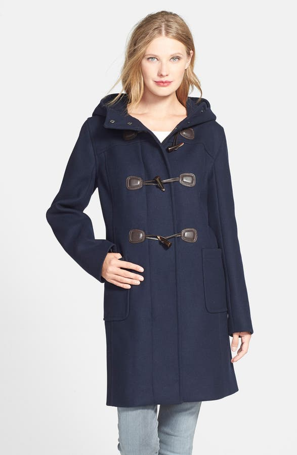 Pendleton Wool Blend Hooded Duffle Coat | Nordstrom