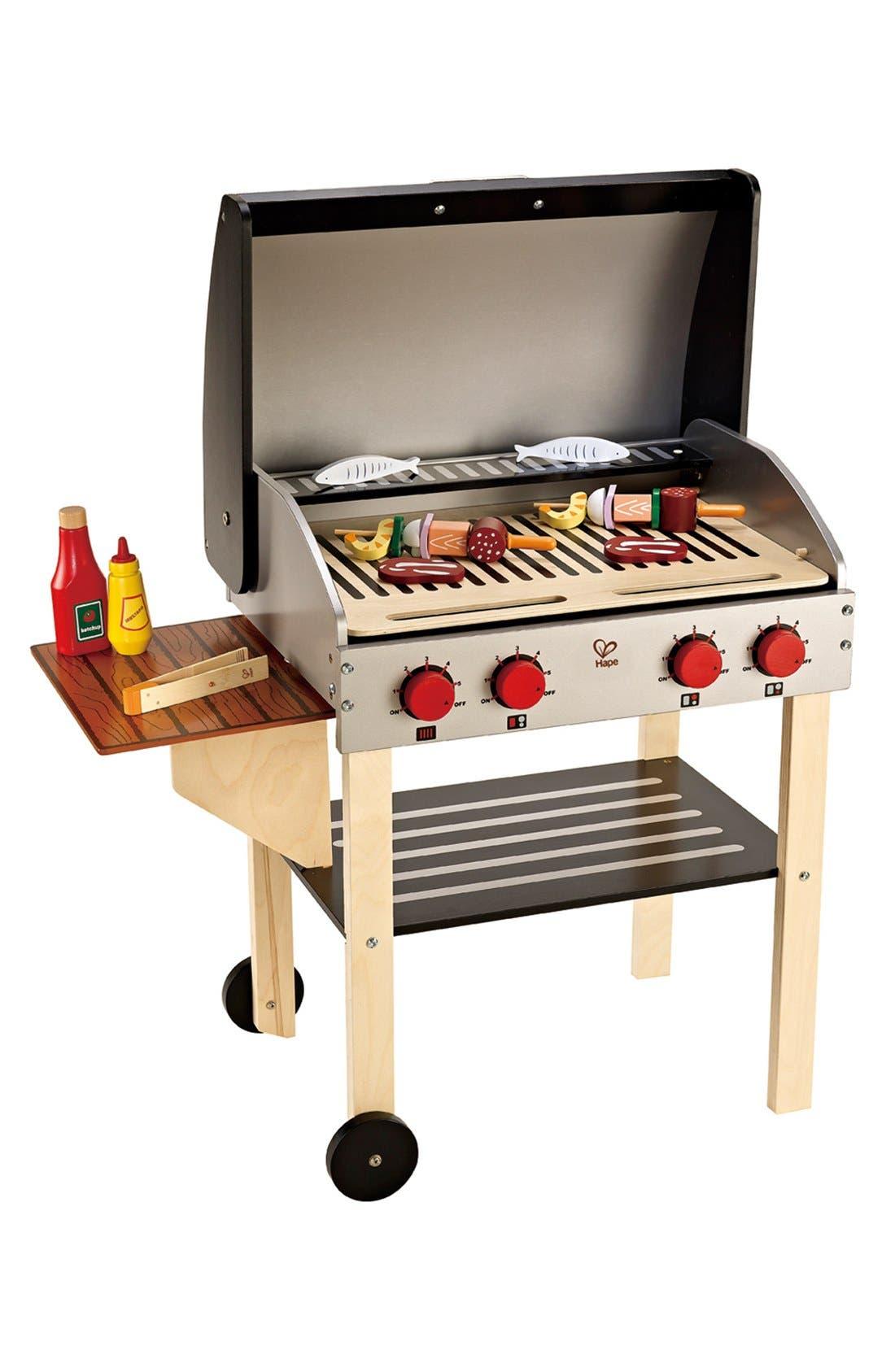Main Image - Hape Gourmet Grill & Shish Kabob Play Set