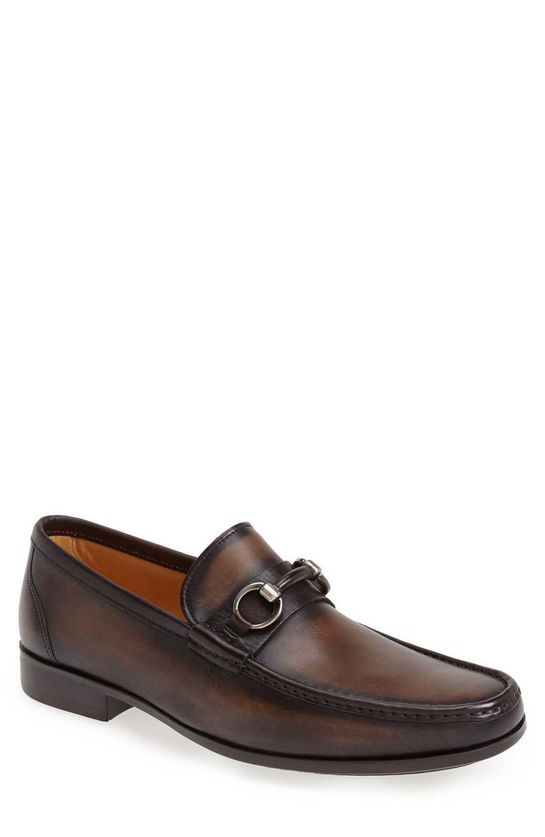 'Blas' Bit Loafer,                         Main,                         color, Brown