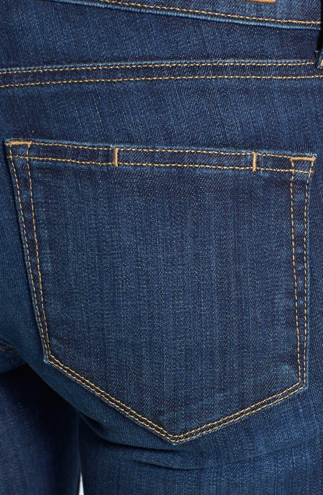 Alternate Image 3  - Paige Denim 'Skyline' Skinny Jeans (Lange)