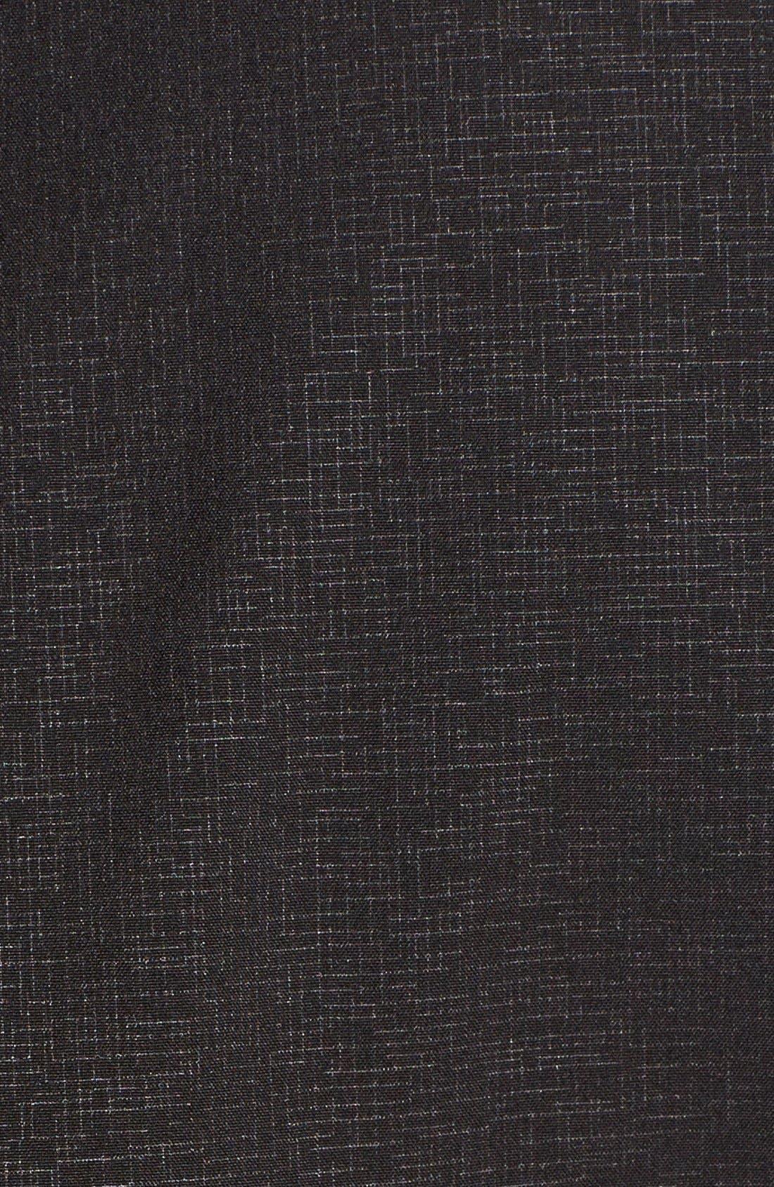 'Rain 7B' Hooded Water Resistant Coat,                             Alternate thumbnail 2, color,                             Black/ Wine