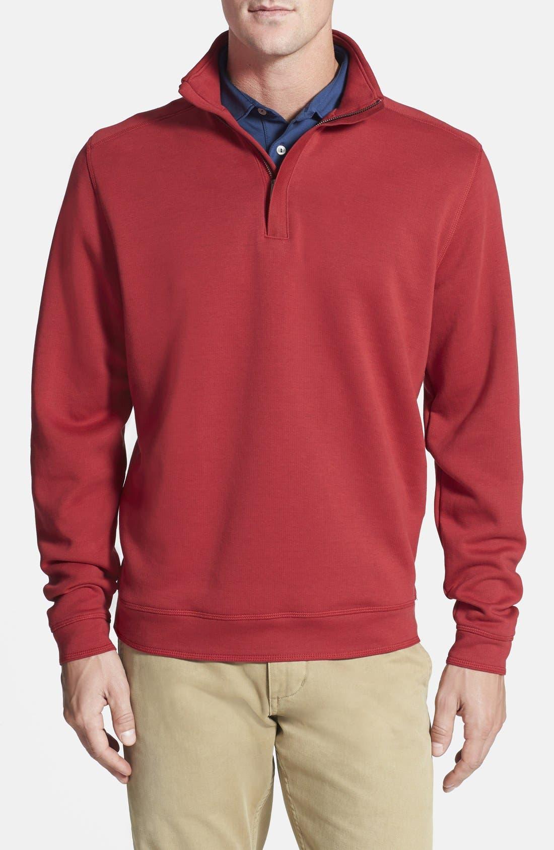 Cutter & Buck 'Decatur' Pima Cotton Pullover (Big & Tall)