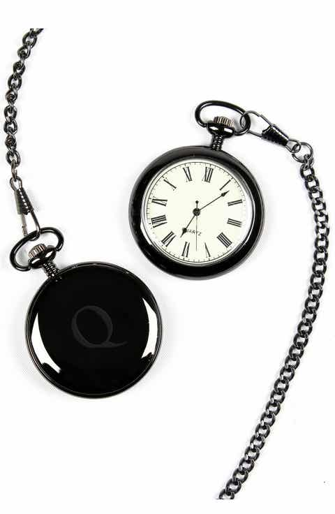 Mens pocket watch nordstrom cathys concepts monogram pocket watch audiocablefo