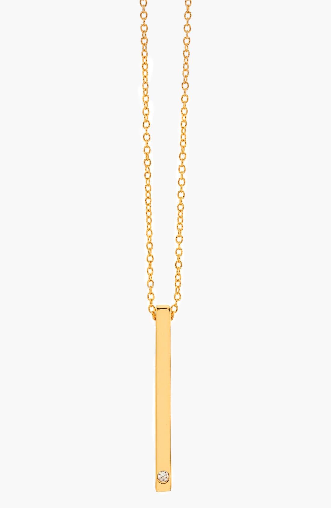 'Mave Shimmer' Pendant Necklace,                         Main,                         color, Gold