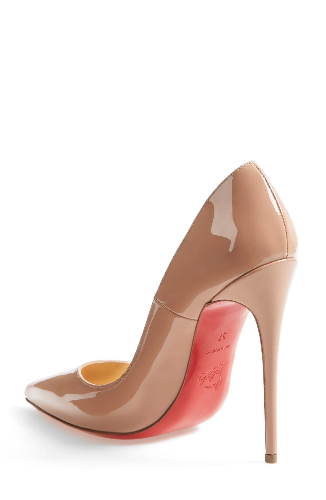 'So Kate' Pointy Toe Pump,                             Alternate thumbnail 2, color,                             Nude