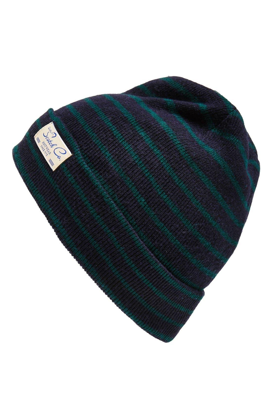 Alternate Image 1 Selected - Scotch & Soda Stripe Knit Cap