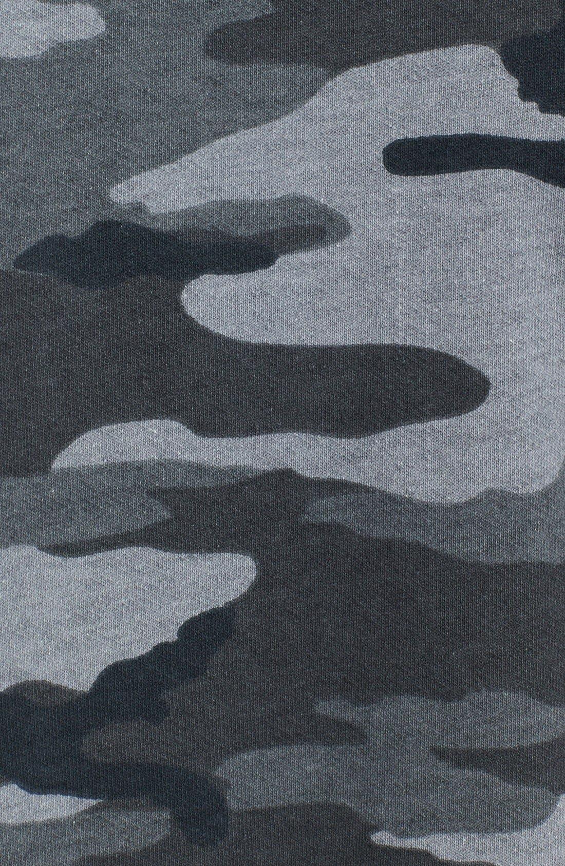 Alternate Image 3  - Current/Elliott 'The Stadium' Side Zip Camo Sweater