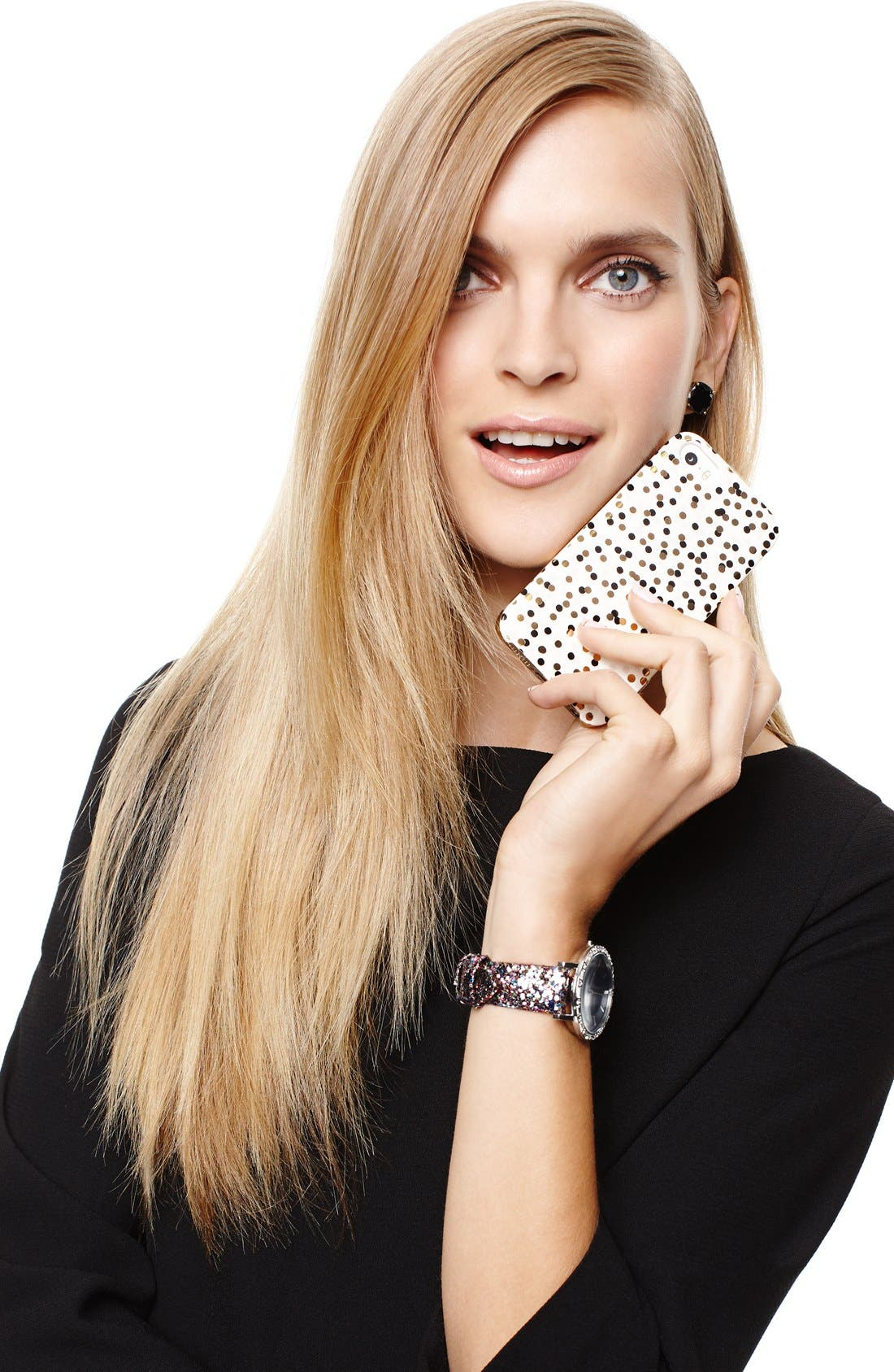 Alternate Image 4  - kate spade new york 'confetti' iPhone 5 & 5s case