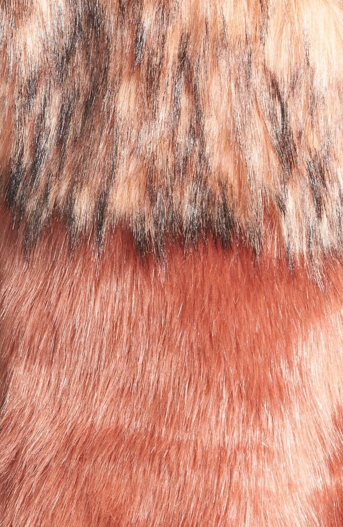 Alternate Image 3  - odyn Faux Fur Vest