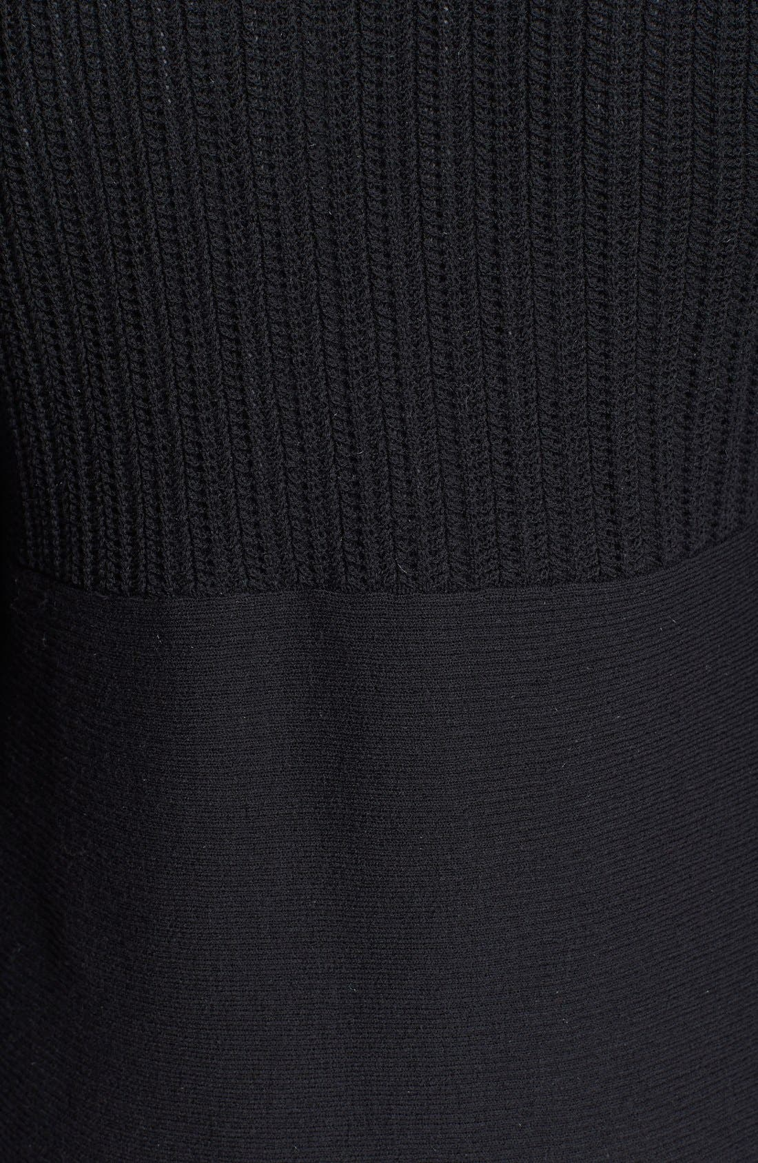 Alternate Image 3  - Eileen Fisher Textured Wool Cardigan (Petite)