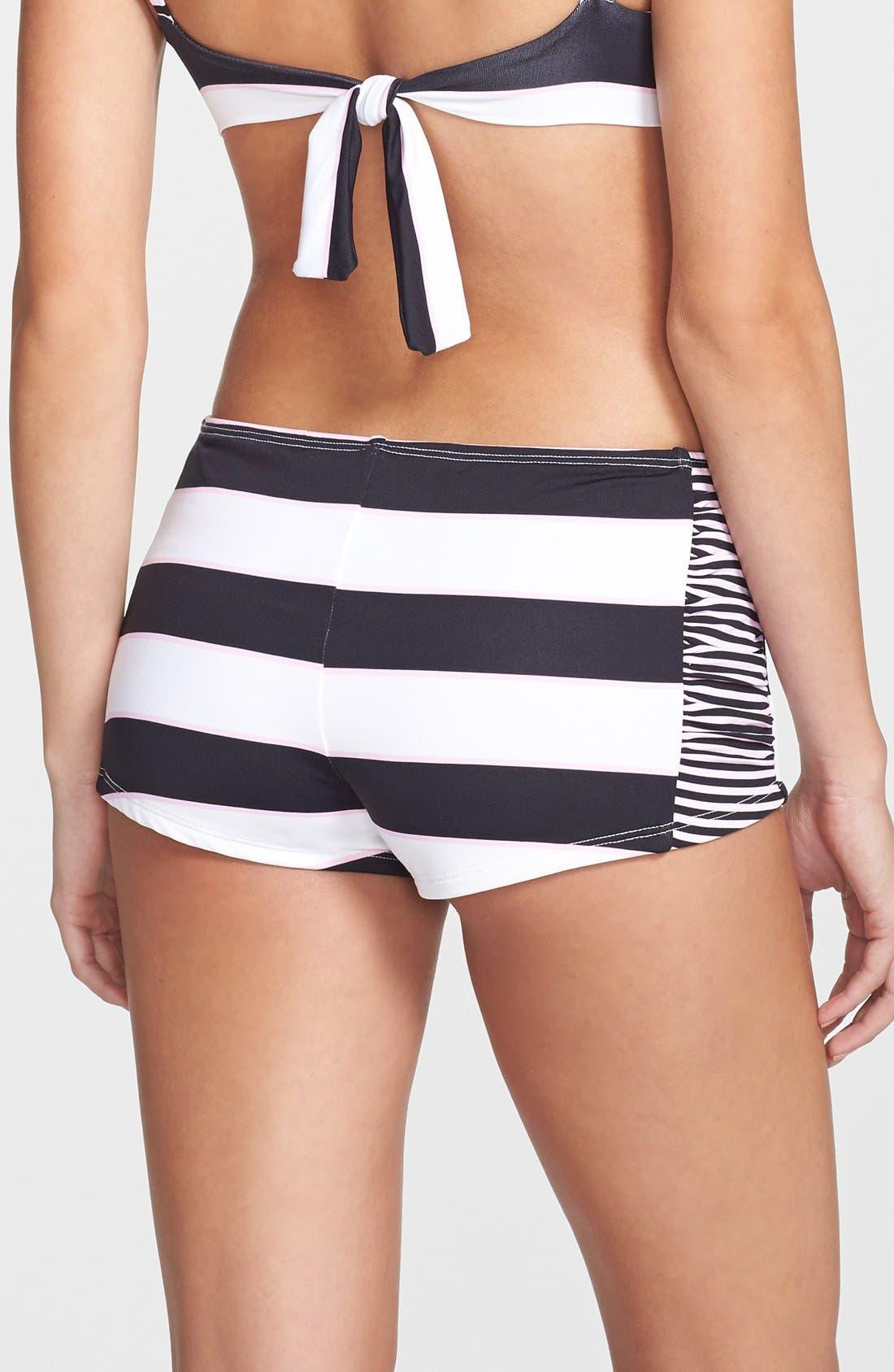 Alternate Image 2  - Tommy Bahama Rugby Stripe Hot Shorts