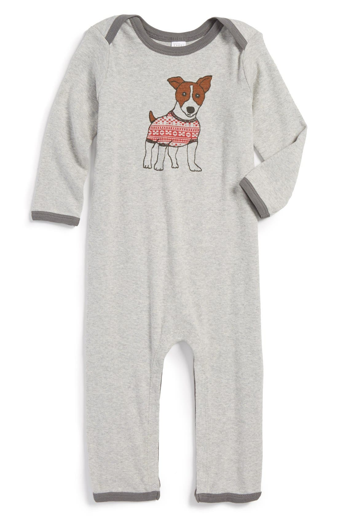 Alternate Image 1 Selected - Nordstrom Baby Romper (Baby)