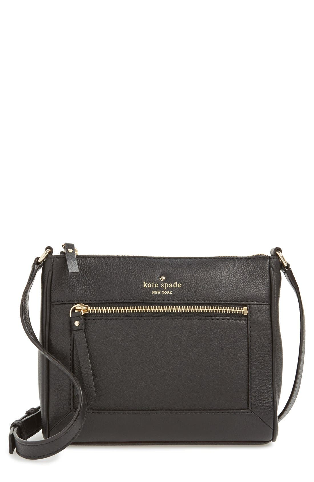 Alternate Image 1 Selected - kate spade new york 'cobble hill - deni' leather crossbody bag