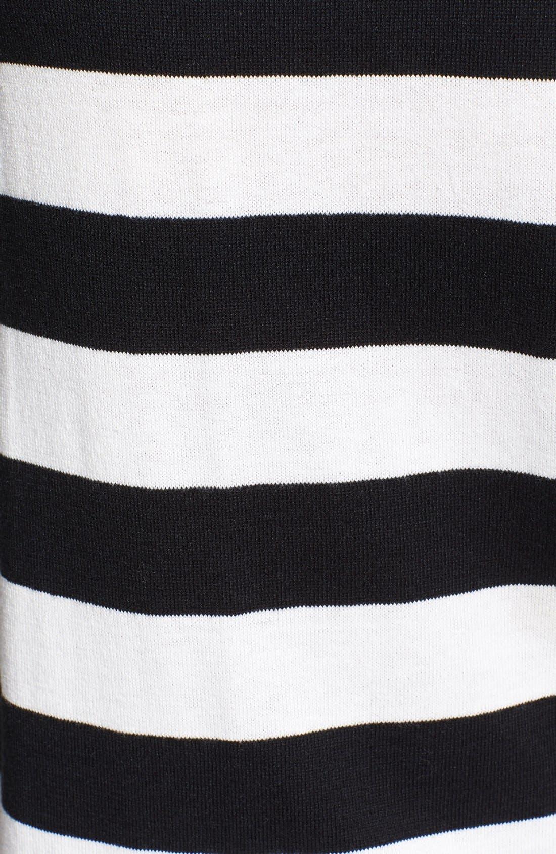 Alternate Image 3  - kate spade new york heart stripe intarsia knit sweater
