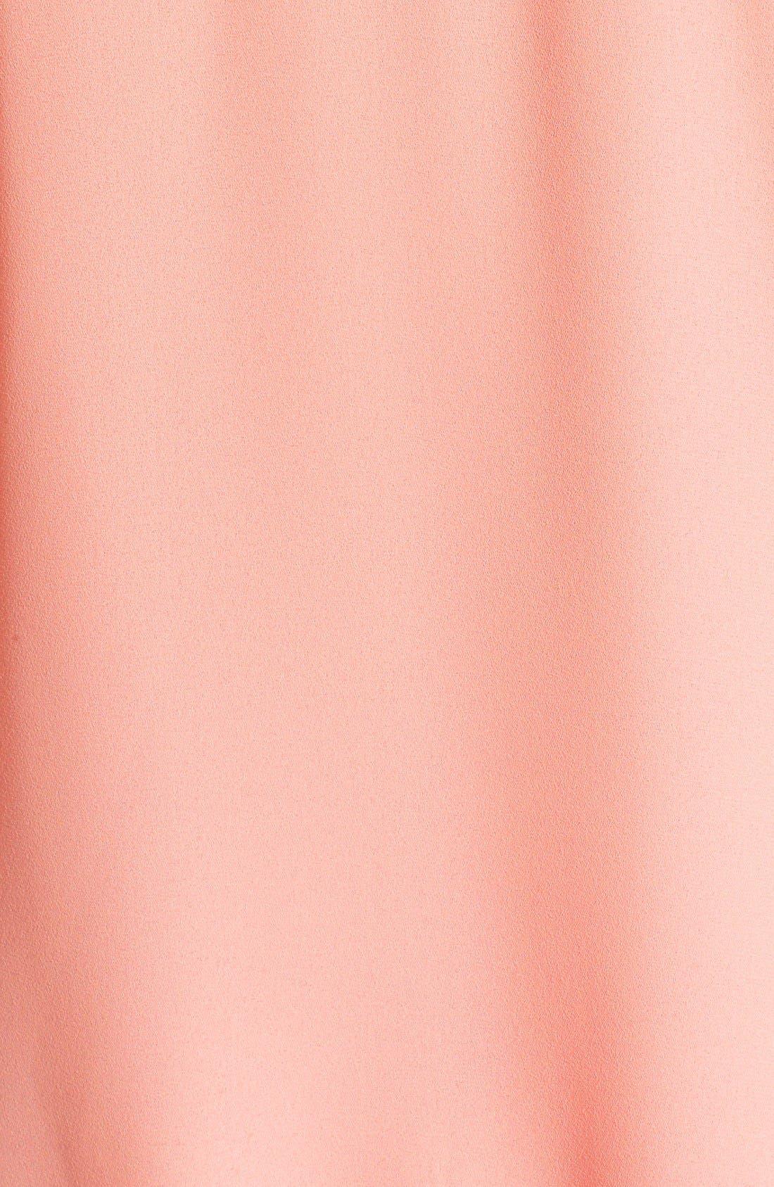 Alternate Image 3  - Lush Faux Wrap Woven Camisole