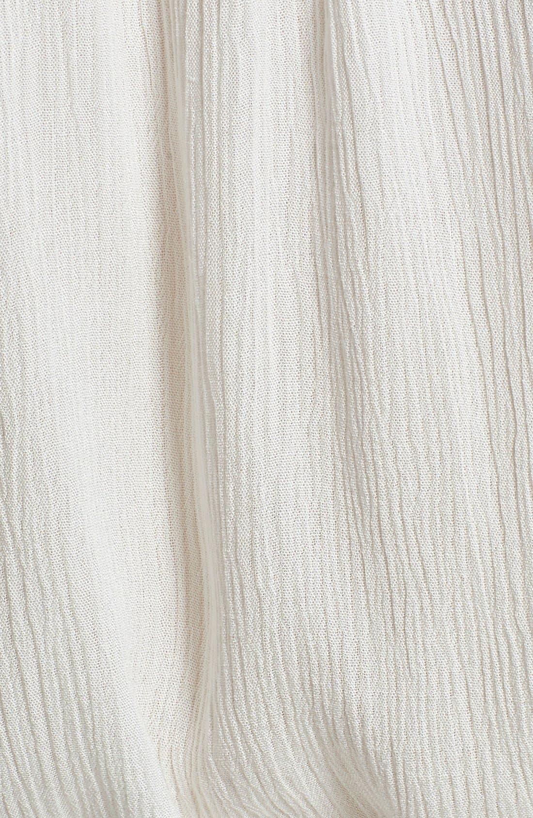 Alternate Image 3  - ASTR Crochet Detail Off the Shoulder Romper