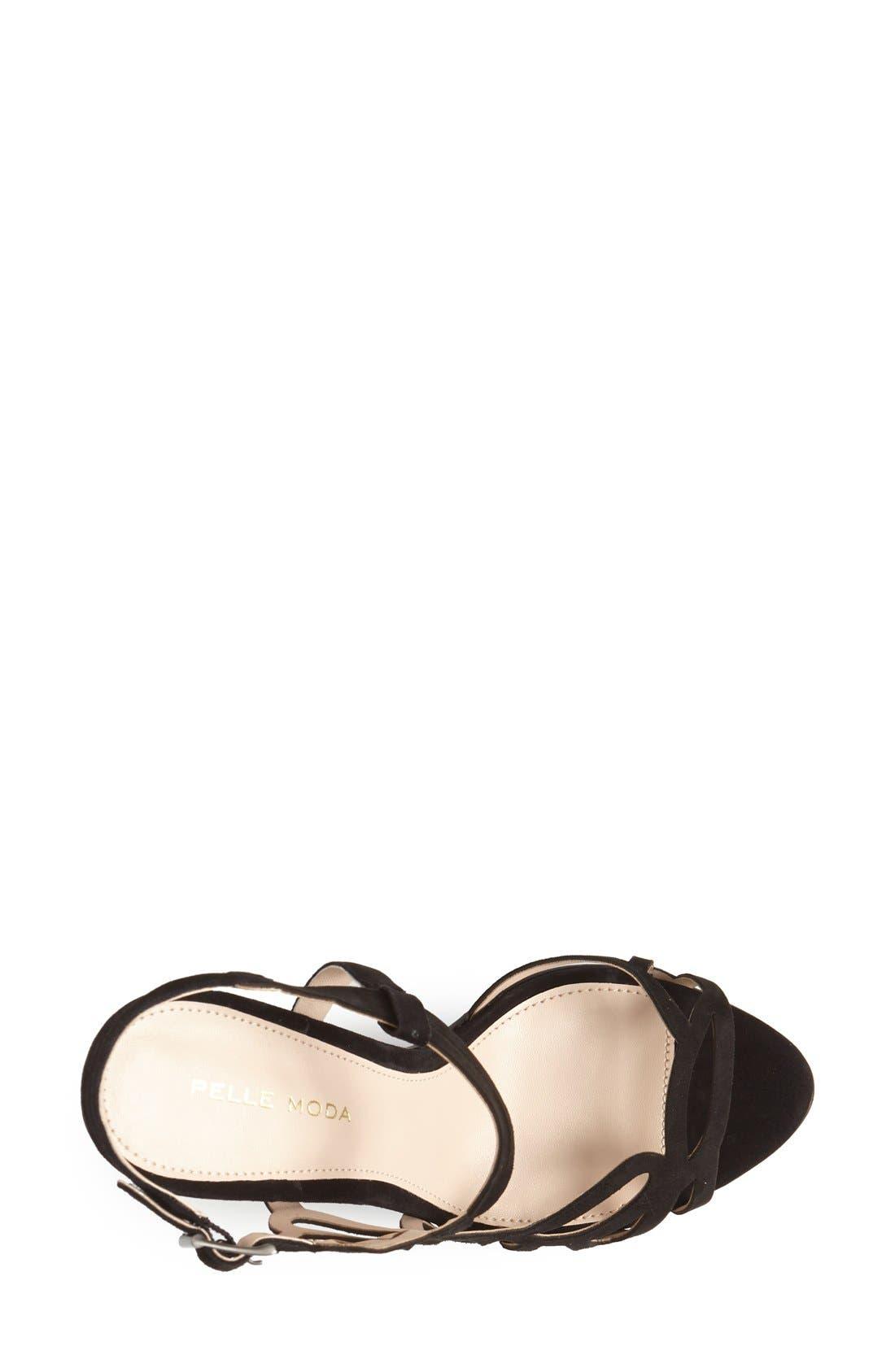 Alternate Image 3  - Pelle Moda 'Fey' Suede Sandal (Women)