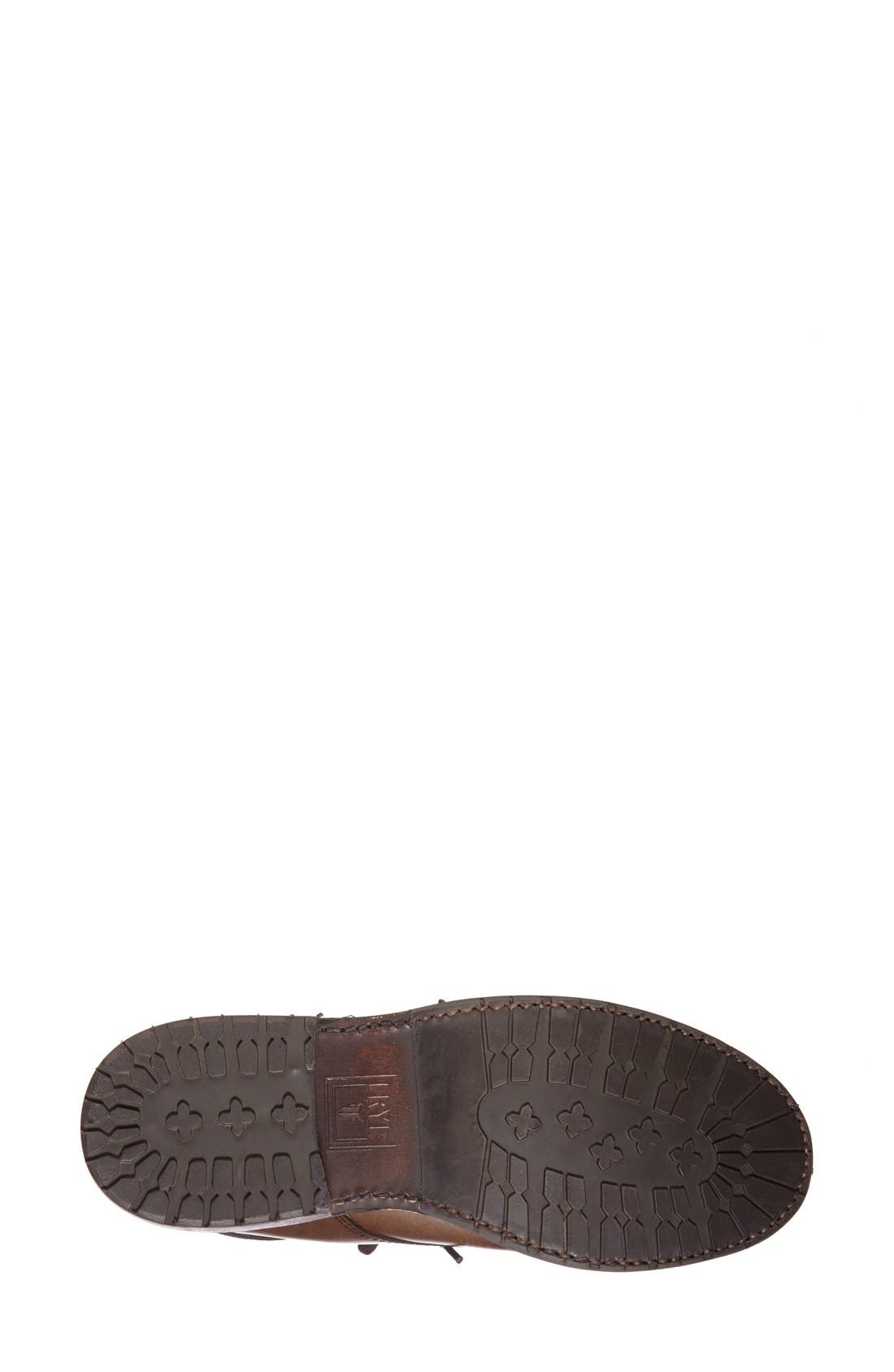 Alternate Image 4  - Frye 'James' Lug Lace-Up Boot (Women)