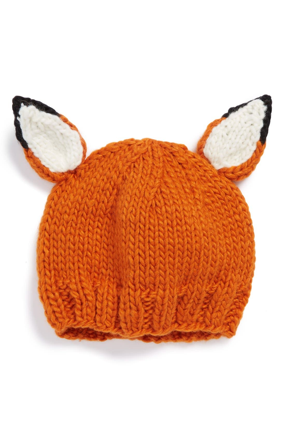 Main Image - The Blueberry Hill 'Rusty Fox' Knit Hat (Baby)