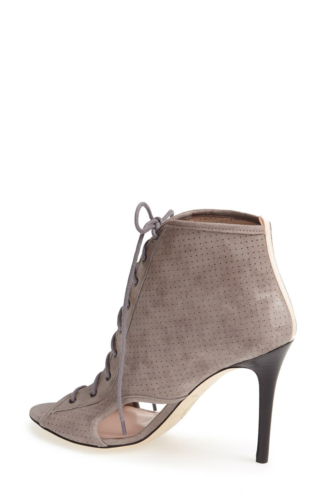 Alternate Image 2  - SJP 'Marci' Lace-Up Suede Bootie (Women)