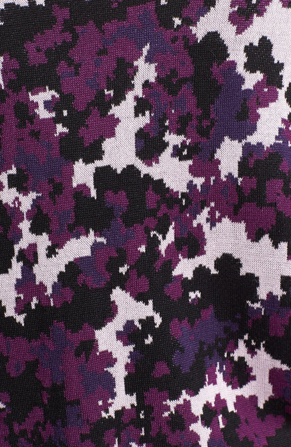 Alternate Image 3  - kensie Drapey Camo Sweater