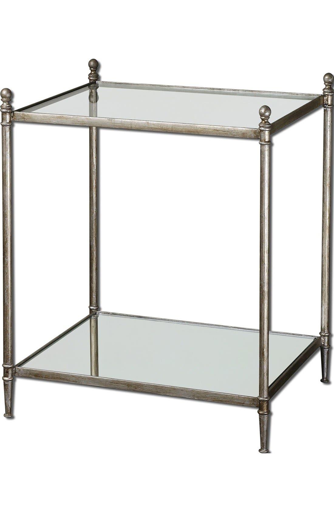 Alternate Image 1 Selected - Uttermost 'Gannon' Antiqued End Table