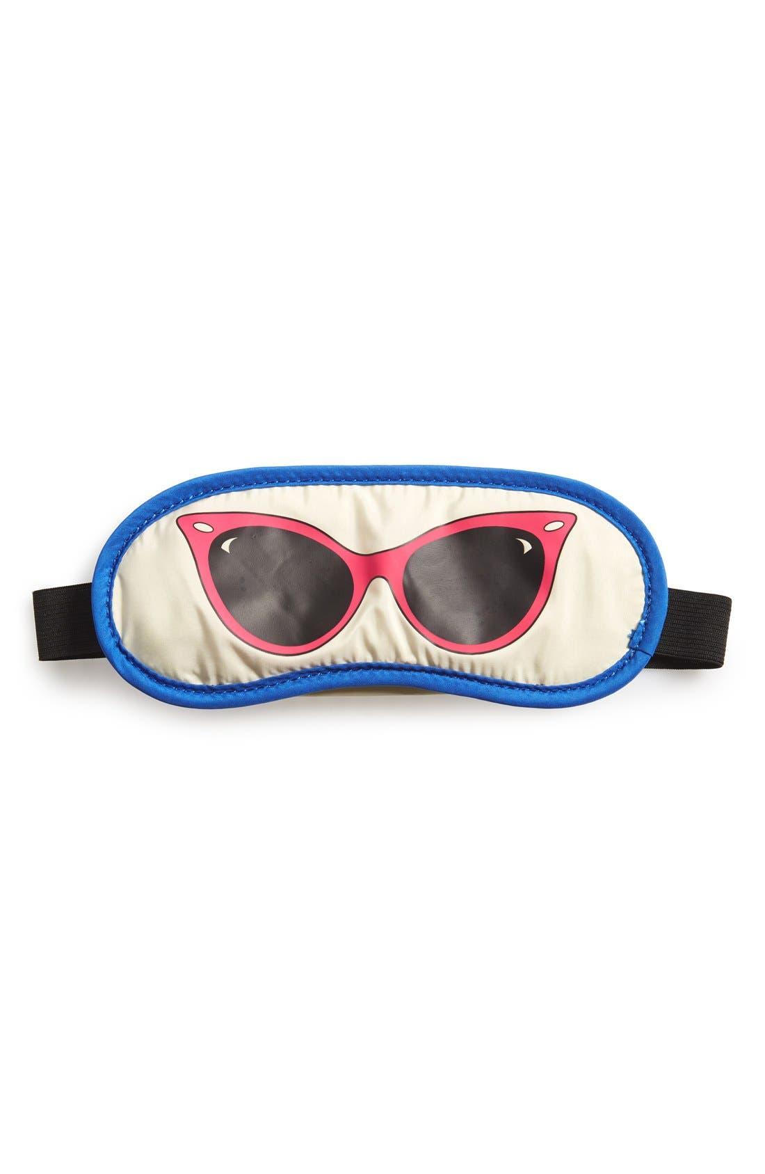 Alternate Image 1 Selected - FLIGHT 001 'Cat Eye Sunglasses' Sleep Mask