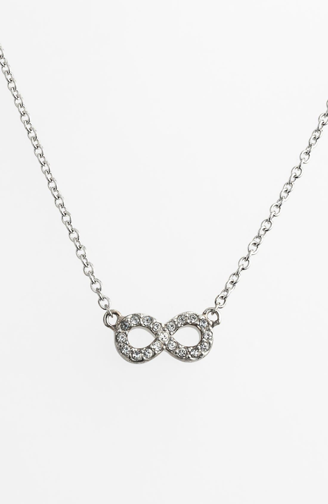 Alternate Image 1 Selected - Judith Jack 'Mini Motives' Reversible Infinity Symbol Pendant Necklace