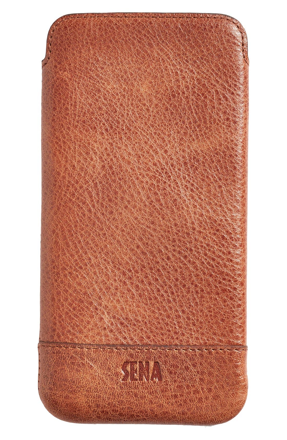 Sena Heritage - Ultra Slim Leather iPhone 6 Plus/6s Plus Pouch
