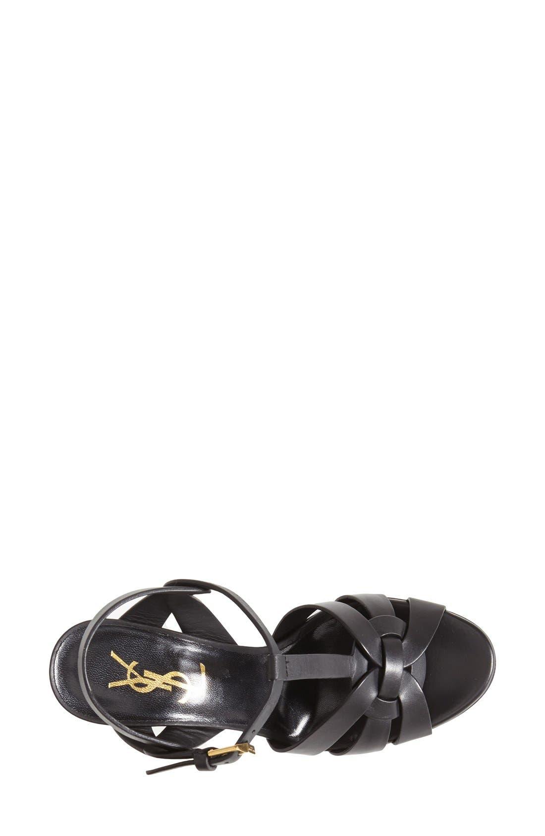 Alternate Image 3  - Saint Laurent Tribute T-Strap Sandal (Women)