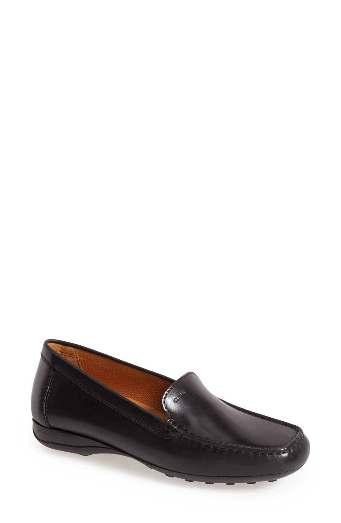 Alternate Image 1 Selected - Geox 'Euro 18' Loafer (Women)
